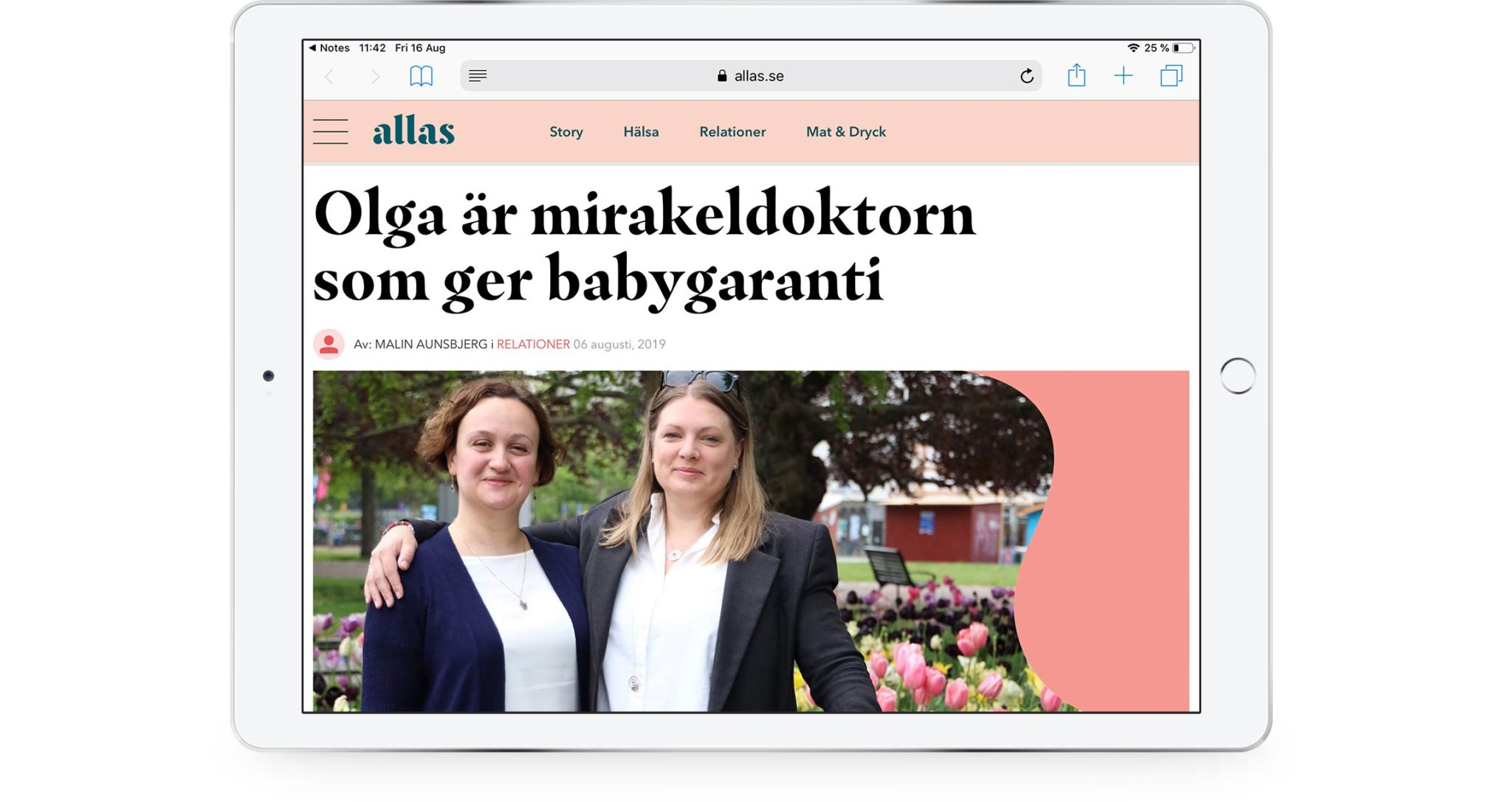 Olga is the miracle doctor who gives baby guarantee
