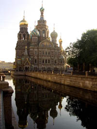 The Saviour on the Spilled Blood, St. Petersburg, Russia